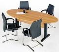mesa de reuniÃo elíptica